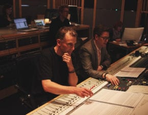 Recording at Air Studios London